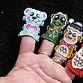 Marionnettes de doigt