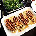 Escalopes de poulet aux herbes de provence, au grill