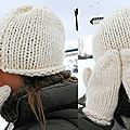 Homestretch Hat de soho et Winter Cozy de garnstudio