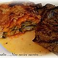GRATIN DE PATATES DOUCES & COURGETTES