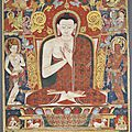 <b>Tangka</b> of Vairocana. Tibet, 13th century