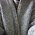 La grosse veste de l'hiver.