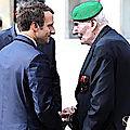 Hubert Germain, un des rares héros survivants de la France libre