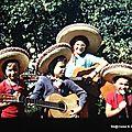 Le mariachi mexicain des années 70