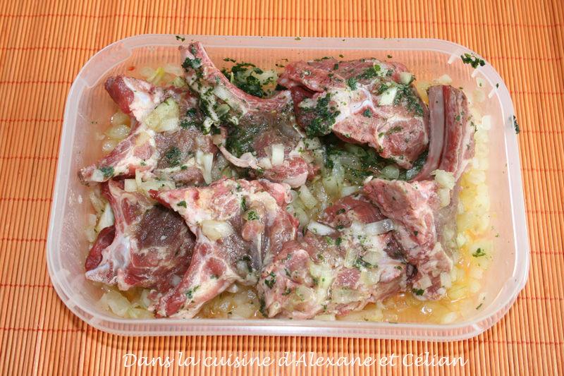 marinade pour c tes d 39 agneau au barbecue dans la cuisine d 39 alexane et c lian. Black Bedroom Furniture Sets. Home Design Ideas