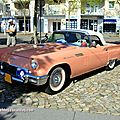 Ford thunderbird 2-door convertible de 1957 (rallye de france 2011)