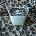 yaourts au <b>lait</b> de coco § au chocolat (façon Bounty®)