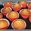 Cupcakes citron vert / coco
