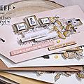 Un mini album de Steff avec le coffret créatif
