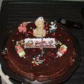 Gâteau d'anniversaire pour mon fils pour ses 1 an