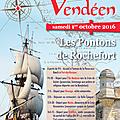 1er octobre 2016 : le souvenir vendéen sur la côte charentaise