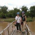 sur le bambou bridge