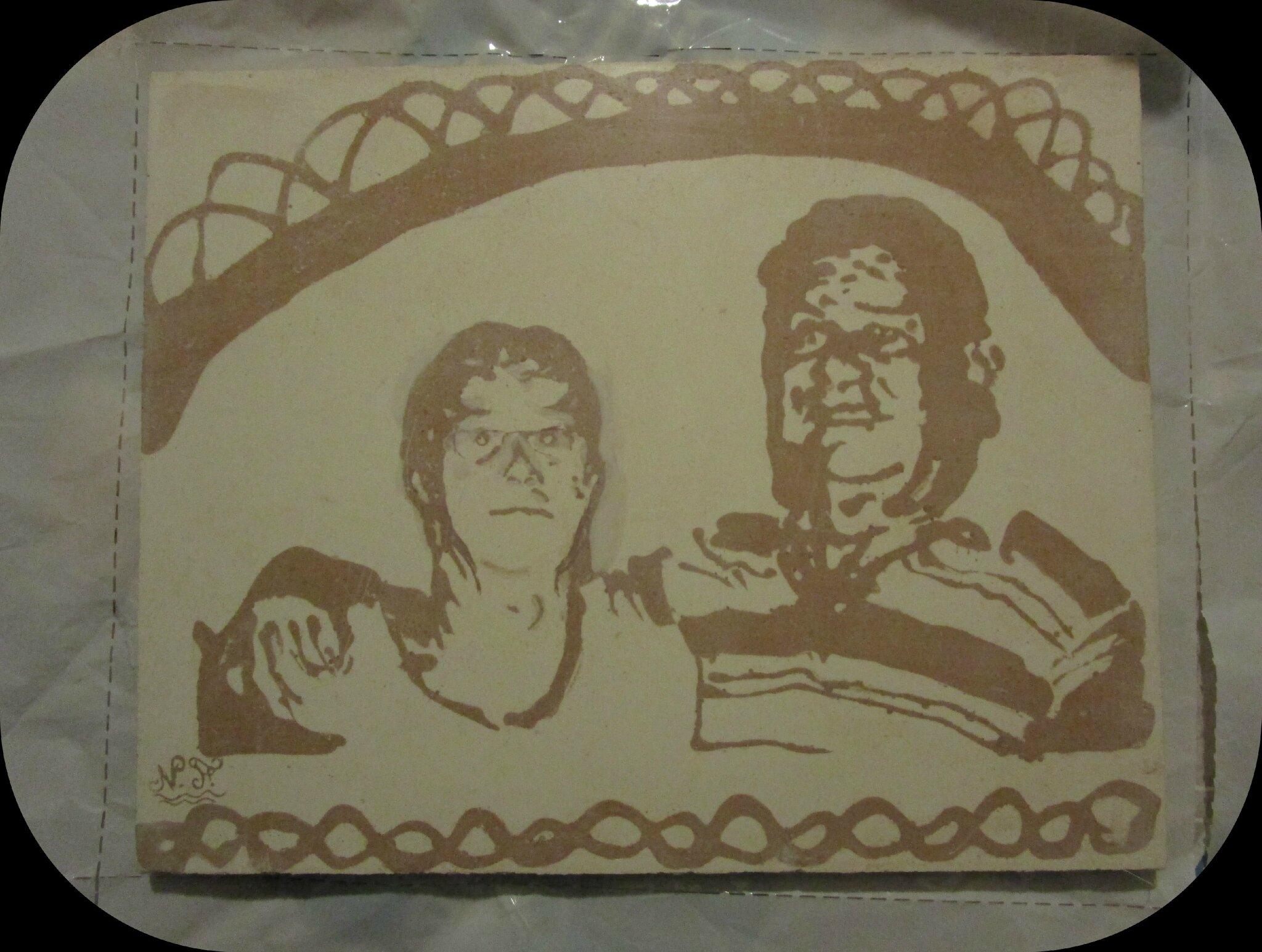 Portraits plaque de staff