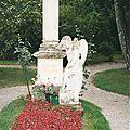 Vienne, cimetière St Marx, tombe Mozart (Autriche)