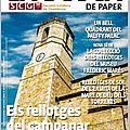 Dans la busca de paper - revue gnomonique catalane