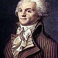la devise de la France. Marat et la disette,saint-just; les jacqueroutins,Robespierre, le roi, les spéculateurs,
