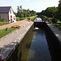 Canal du Nivernais, écluse-bar de Fleury (58)