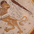 L'évangéliste St Marc symbolisé par le Lion