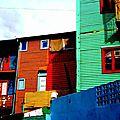 multicolores baraques