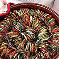 Tian de courgettes et tomates #carnet estival