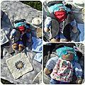 NOUVEAUTE : kit petite poupée , Le petit prince pirate ,