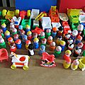 ma petite collection de jouet fisher price vintage