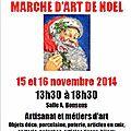 Le 1er marché de noel de 2014........à champdeuil (77)