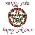 Les fetes de la roue de l'année: 21 ou 22 décembre - solstice d'hiver - fête de yule