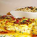 Filets ou pavés de cabillaud, marinés à la sauce exotique