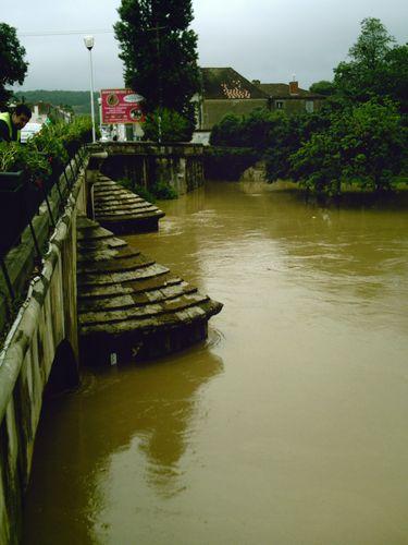 Le pont côté Padouen