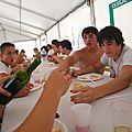 2011-2012, cadets, repas du 30 juin