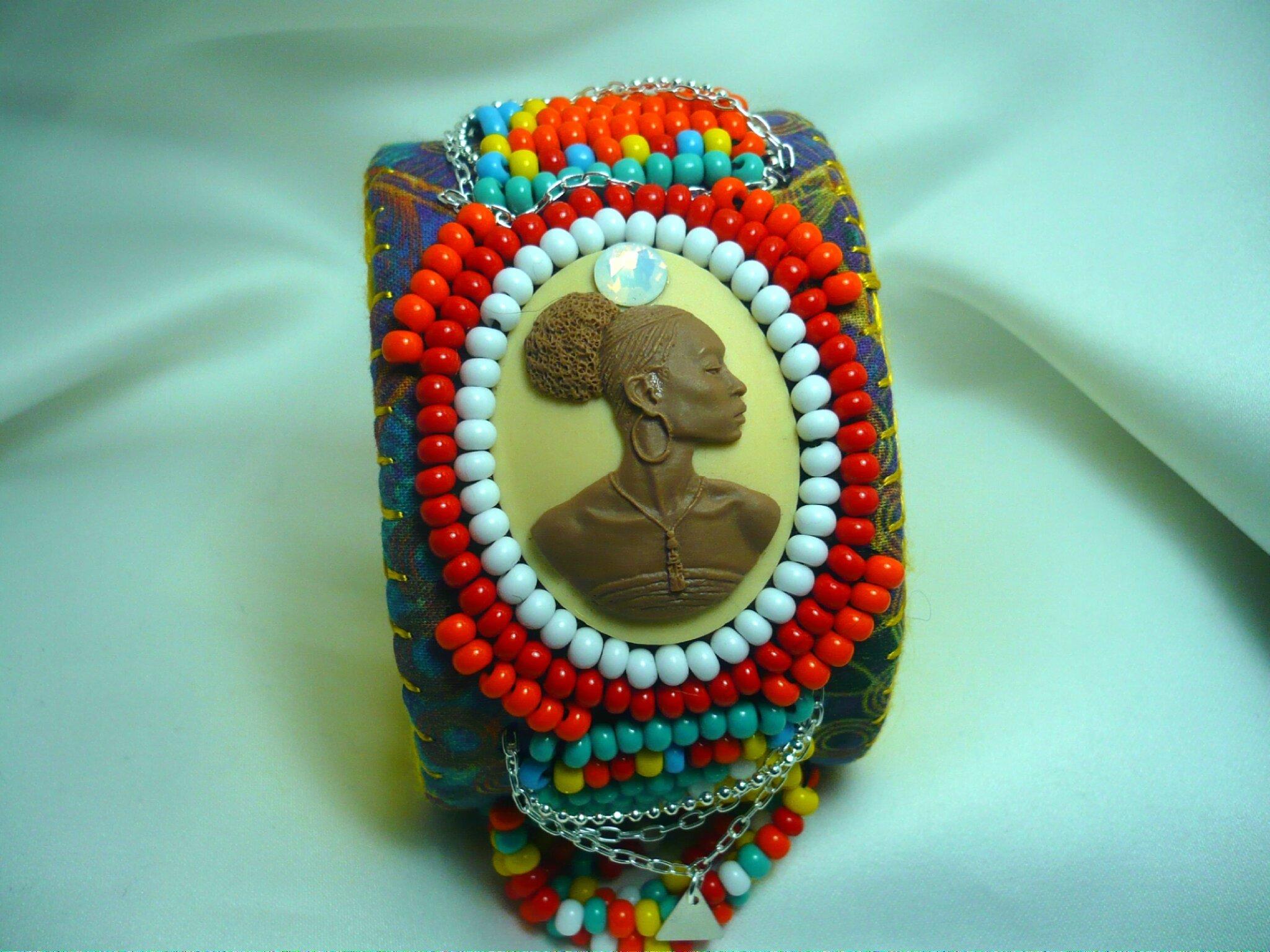 nouveauté Création d'inspiration Masai réalisée
