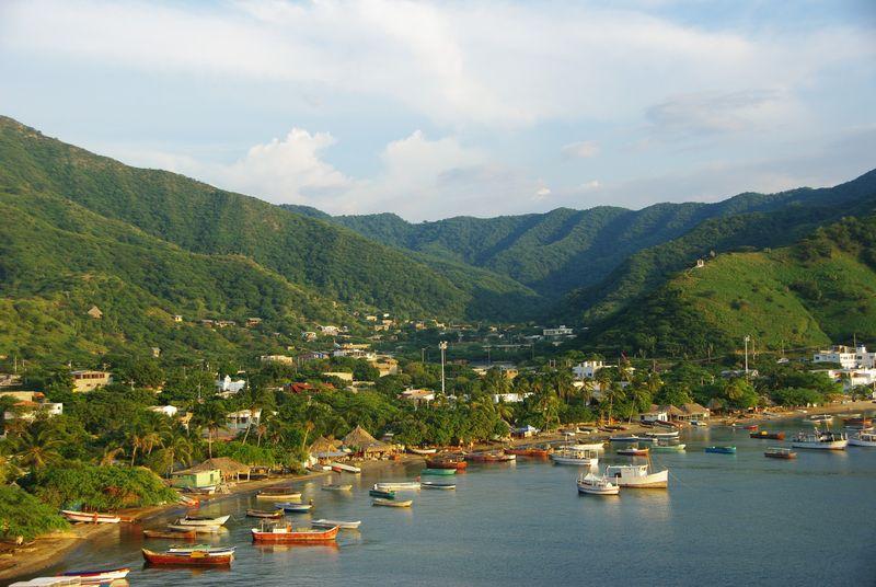 Le port de Taganga