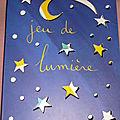 Jeux de lumière avec un livre