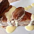 Flan pâtissier a la <b>farine</b> de <b>châtaignes</b>