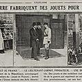 Inauguration de l'atelier des jouets de France - Suicide à St Maurice des Lions - L'<b>aviateur</b> <b>Gilbert</b> se tue