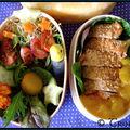 Bento Poulet mariné au <b>Chutney</b> de Mangue