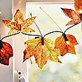 Déco d'automne : 10 idées déco avec des <b>feuilles</b> <b>mortes</b>