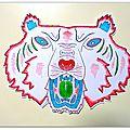 Diy- papertoy tiger - tigre 3d