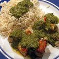 J'ai relevé le défi de mamzelle gwen! j'ai cuisiné tchadien.