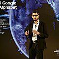 Google devient alphabet