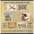 Congis toys salon du jouet ancien le dimanche 12 janvier 2014