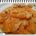 Blanquette de crevettes