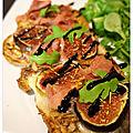 Tartines gorgonzola, figues & jambon cru… chic et gourmandes !