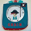 sac à dos personnalisable pirate
