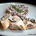 Ballotines de poulet au foie gras et champignons des bois