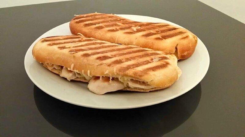 Panini poulet fromage la popotte d aurelie - La maison du panini ...