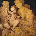Perino del Vaga, <b>Holy</b> <b>Family</b> with Saint John the Baptist, 1528–1530
