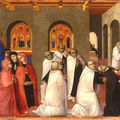 A Miracle of the Sacrament by Sassetta @ The <b>Bowes</b> Museum