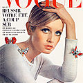 Mai 1967, Twiggy pour <b>Vogue</b> France